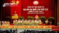 Nghệ An ban hành Kế hoạch học tập, quán triệt và triển khai thực hiện Nghị quyết Đảng bộ tỉnh lần thứ XIX