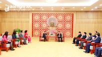 Bí thư Tỉnh ủy tiếp Đại sứ Đặc mệnh toàn quyền Ấn Độ thăm, làm việc tại Nghệ An