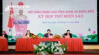 Khai mạc kỳ họp thứ 16, HĐND tỉnh Nghệ An khóa XVII