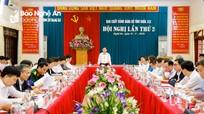 Ban Chấp hành Đảng bộ tỉnh Nghệ An khóa XIX tổ chức Hội nghị lần thứ 2