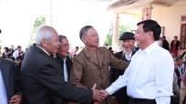 Bí thư Trung ương Đảng Nguyễn Xuân Thắng dự Ngày hội Đại đoàn kết tại Thanh Chương