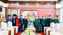 Lãnh đạo tỉnh chúc mừng Ngày thành lập Quân đội nhân dân Việt Nam