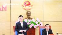 Nghệ An kiến nghị với Chính phủ, Thủ tướng Chính phủ 3 nội dung tại Hội nghị trực tuyến toàn quốc