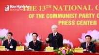Tổng Bí thư, Chủ tịch nước Nguyễn Phú Trọng chủ trì họp báo về Đại hội XIII của Đảng
