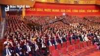 Thông qua Nghị quyết Đại hội đại biểu toàn quốc lần thứ XIII của Đảng