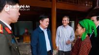Bí thư Tỉnh ủy Thái Thanh Quý thăm, chúc Tết tại huyện Quế Phong và Quỳ Châu
