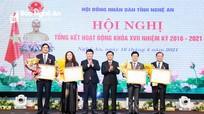 HĐND tỉnh Nghệ An tổng kết hoạt động khóa XVII, nhiệm kỳ  2016 - 2021