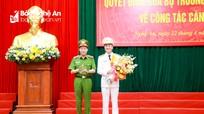 Công bố, trao Quyết định Giám đốc Công an tỉnh Nghệ An