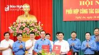 Đảng đoàn Tổng LĐLĐ Việt Nam và Ban Thường vụ Tỉnh ủy Nghệ An ký kết Chương trình phối hợp công tác