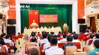 Ứng cử viên đại biểu Quốc hội, HĐND tỉnh vận động bầu cử tại huyện Nam Đàn
