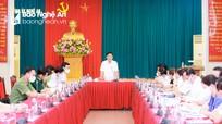 Ban Thường vụ Tỉnh ủy Nghệ An cho ý kiến về công tác tinh giản biên chế, sắp xếp tổ chức bộ máy