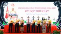 Bầu lãnh đạo các Ban HĐND tỉnh Nghệ An khóa XVIII