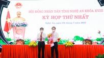 Phê chuẩn lãnh đạo HĐND, UBND tỉnh Nghệ An nhiệm kỳ 2021 - 2026