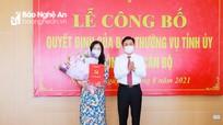 Đồng chí Nguyễn Thị Kim Chi giữ chức Bí thư Đảng ủy Khối Các cơ quan tỉnh Nghệ An
