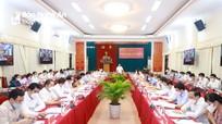 Ban Chấp hành Đảng bộ tỉnh Nghệ An khóa XIX tổ chức Hội nghị lần thứ 6