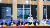 Lãnh đạo tỉnh Nghệ An làm việc với Tổ tư vấn kinh tế - xã hội tỉnh