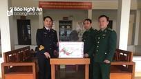 BĐBP Nghệ An chúc Tết Cảnh sát biển và Hải quân Vùng 1
