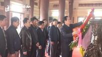 Đoàn đại biểu Tổng Cục đường bộ dâng hương tại Khu Di tích Truông Bồn