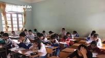 931 học sinh Tân Kỳ thi kiểm định chất lượng khối 6,7,8