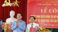Đồng chí Đoàn Hồng Vũ giữ chức Giám đốc Sở Lao động Thương binh và Xã hội