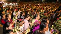 Hàng vạn người tham gia Lễ cầu Quốc thái dân an tại chùa Đức Hậu