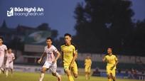 Mượn sân Vinh đấu giải hạng Nhất, Hồng Lĩnh Hà Tĩnh thắng thuyết phục CLB Huế