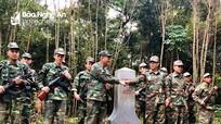 BĐBP Nghệ An và bộ đội Xiêng Khoảng (Lào) tuần tra song phương trên đỉnh Trường Sơn