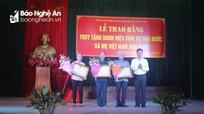 Các địa phương truy tặng danh hiệu Bà mẹ Việt Nam Anh hùng