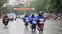 Thời tiết 16/8: Nghệ An có mưa to và rất to, nhiều nơi có thể xảy ra lũ quét và ngập úng cục bộ