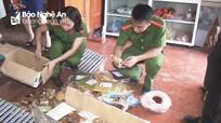 Phát hiện lò sản xuất bánh Trung thu trái phép ở Nghệ An