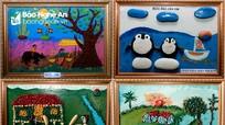 Ghép đá thành những bức tranh, giáo viên vùng cao Nghệ An tạo điều bất ngờ