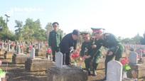 Quân ủy Trung ương, Bộ Quốc phòng dâng hương tại Nghĩa trang Việt - Lào
