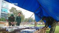 Nghệ An: Chuẩn bị cho bắn pháo hoa ở thành phố Vinh, thị xã Cửa Lò vào đêm giao thừa