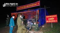 Biên phòng Nghệ An phát hiện nhiều tốp lao động từ Lào về qua đường mòn, lối mở ở biên giới