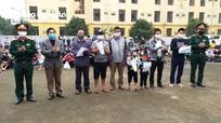 Nghệ An trao Giấy chứng nhận hết thời hạn cách ly cho 342 công dân