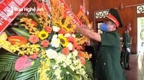 Bộ CHQS tỉnh dâng hương tưởng niệm Chủ tịch Hồ Chí Minh và các anh hùng liệt sỹ