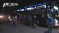 Thanh Chương tiếp nhận 132 du học sinh Lào vào khu cách ly