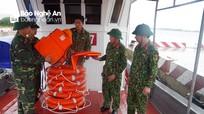 Lực lượng vũ trang Nghệ An chuẩn bị sẵn sàng chống bão số 2