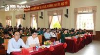 Bộ CHQS tỉnh Nghệ An tổ chức Hội thi cán bộ giảng dạy chính trị năm 2020