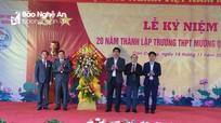 Trường THPT Mường Quạ tổ chức Lễ kỷ niệm 20 năm ngày thành lập