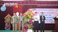 Hơn 450 học sinh dân tộc thiểu số Nghệ An nô nức dự lễ khai giảng năm học mới