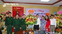 Bộ CHQS tỉnh thăm, chúc mừng Ngày Nhà giáo Việt Nam