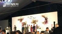 Bên trong đám cưới Công Phượng ở quê nhà Nghệ An