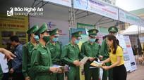 Hàng trăm cựu quân nhân Nghệ An háo hức tìm kiếm việc làm
