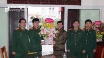 Bộ CHQS tỉnh Nghệ An chúc mừng Lễ Giáng sinh năm 2020
