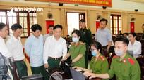 Bộ CHQS tỉnh triển khai cấp thẻ căn cước công dân gắn chip điện tử cho cán bộ, chiến sỹ