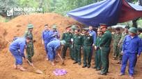 Quân khu 4 quy tập được 13 hài cốt liệt sĩ tại chiến khu xưa Ba Lòng và huyện Hướng Hóa