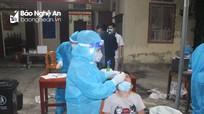 Xuyên đêm lấy hơn 2.200 mẫu cộng đồng cho người dân thị trấn Cầu Giát