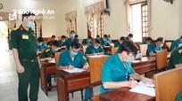 Khai mạc Hội thi pháp luật về Dân quân tự vệ tỉnh Nghệ An năm 2021