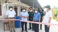 Giám đốc Sở Y tế Nghệ An kiểm tra công tác phòng, chống dịch tại các khu cách ly huyện Quỳnh Lưu